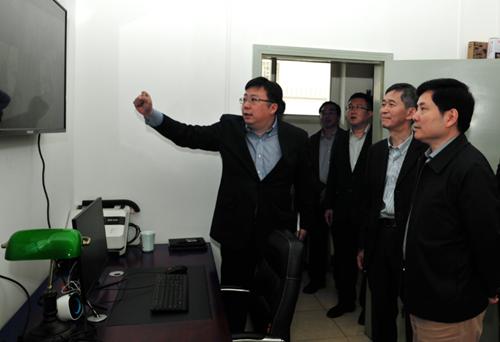 刘伟副部长到财政部政府采购投诉举...